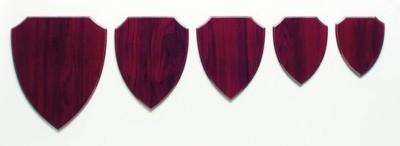 Holzplakette Wappen