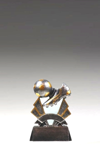 Pokal Resin Fussball