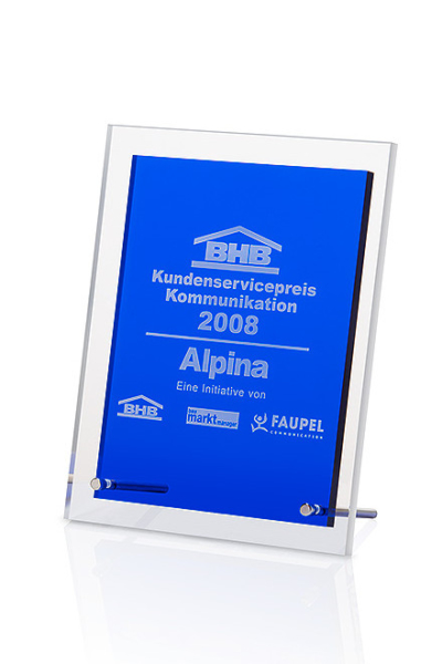 Blue Angular Award