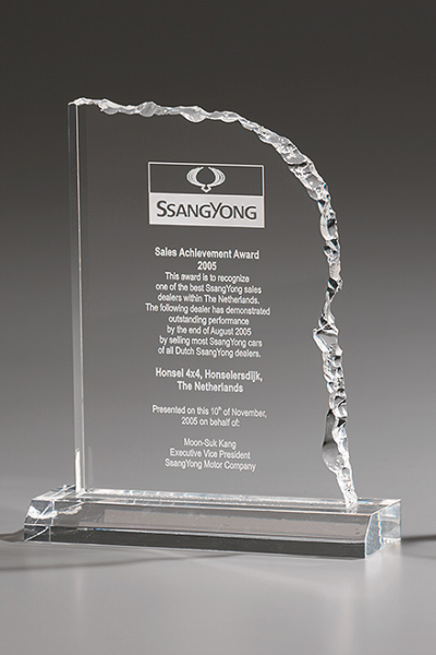 Cracked Edge Award