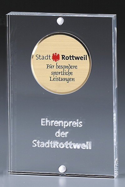 Medaillen in Acryl-Award