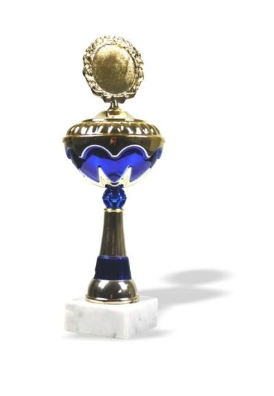 Pokal Go - blau
