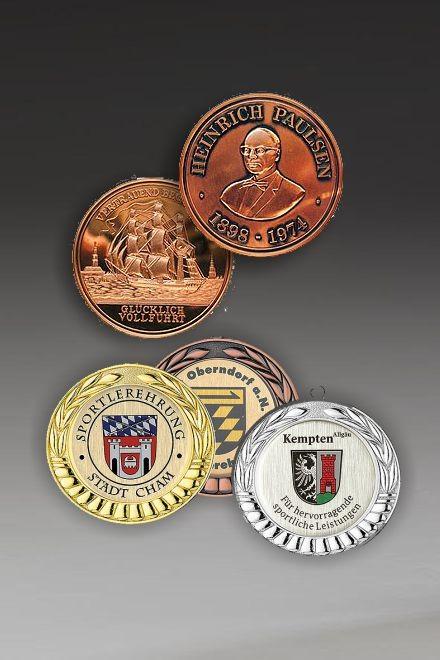 Acrylglas-Medaille Zakoyo
