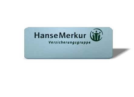 Namensschild Hanse Merkur