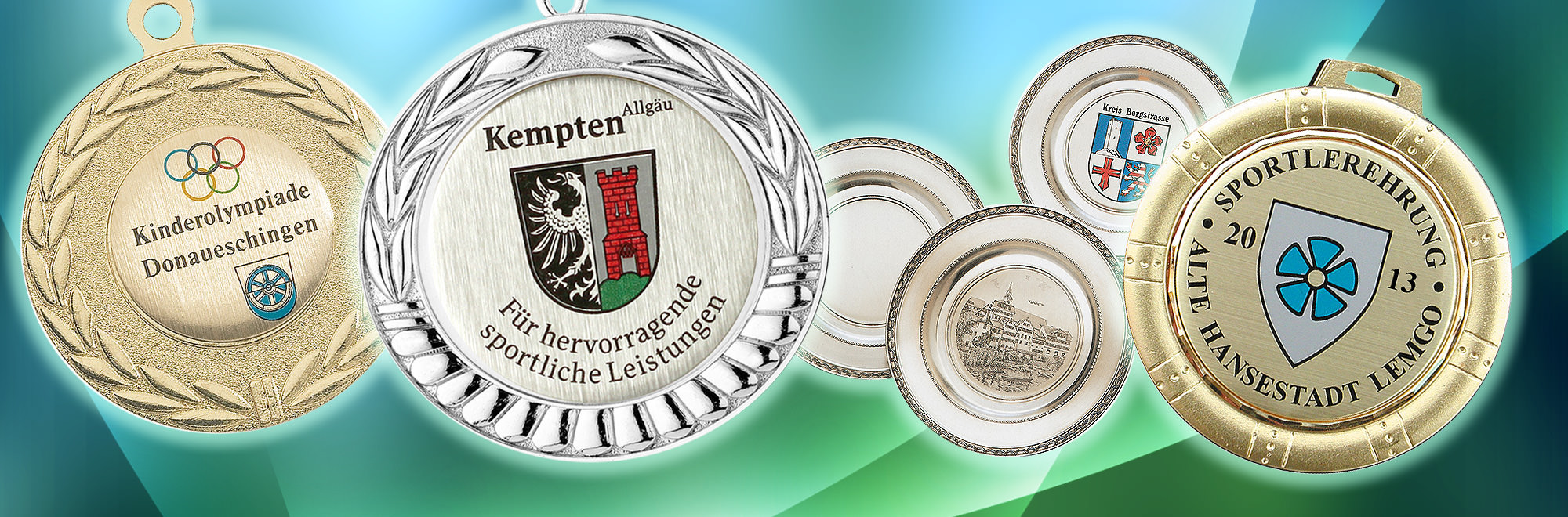 Slider-Medaillen
